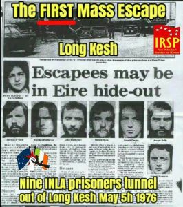 The First Mass Escape from Long Kesh