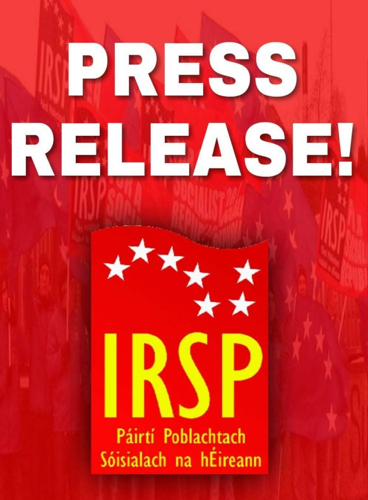 Press Release: IRSP on the Right to Choose