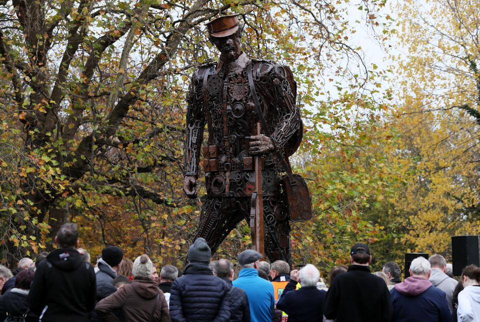 World War One Statue a Bow to British Imperialism