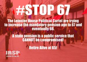 IRSP Support the Stop67 Campaign