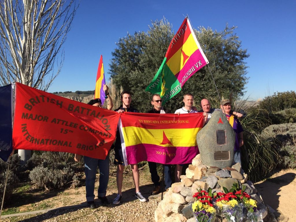 IRSP & RSYM Commemorate International Brigades in Madrid