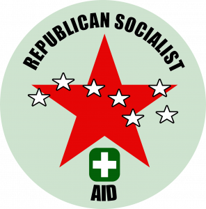 Go Fund Me Recklessly Remove Republican Socialist Aid Donation Page.