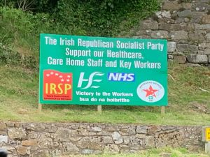 IRSP Show Public Display of Solidarity with