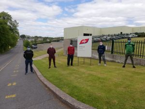 IRSP attend ABP Clones to confront management about Worker's Safety