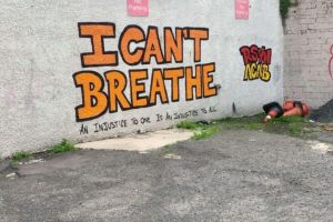"PSNI arrest activist behind ""I Cant Breathe"" Mural in Derry"