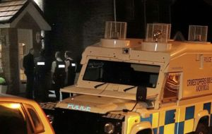 PSNI House Party – Shots Fired & Drugs Found