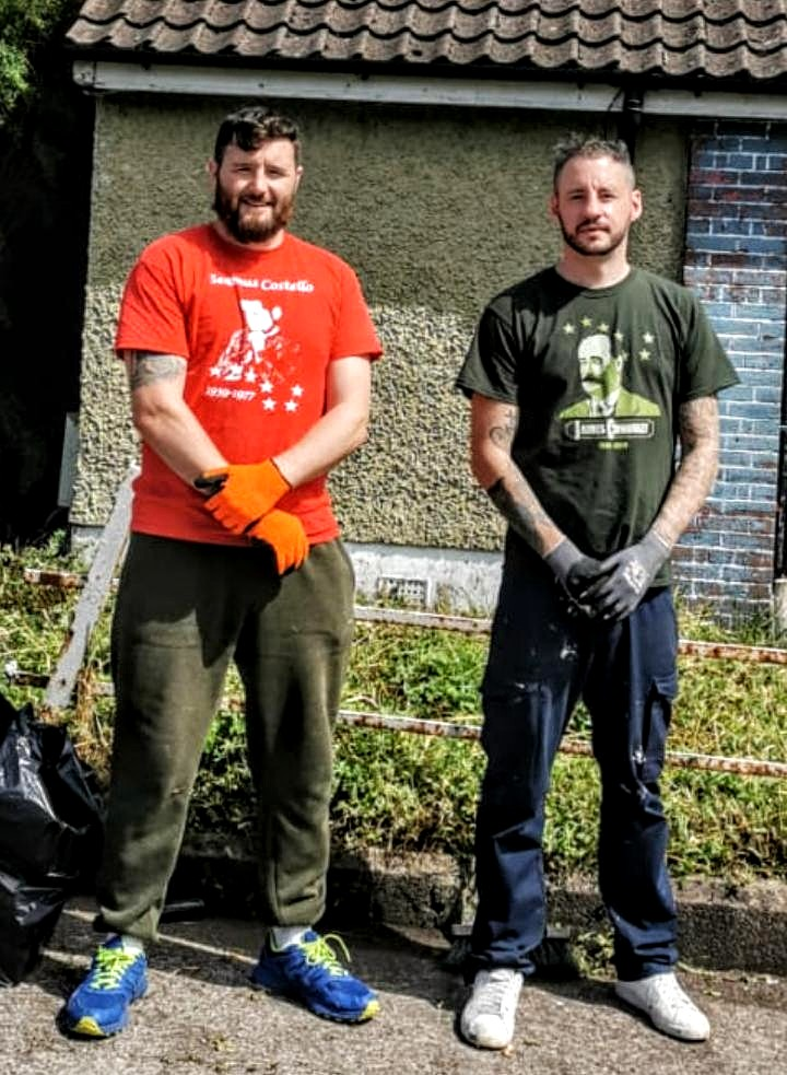IRSP Cork – Community Action Garden Clean-Up in Pearse Square, Ballyphehane.