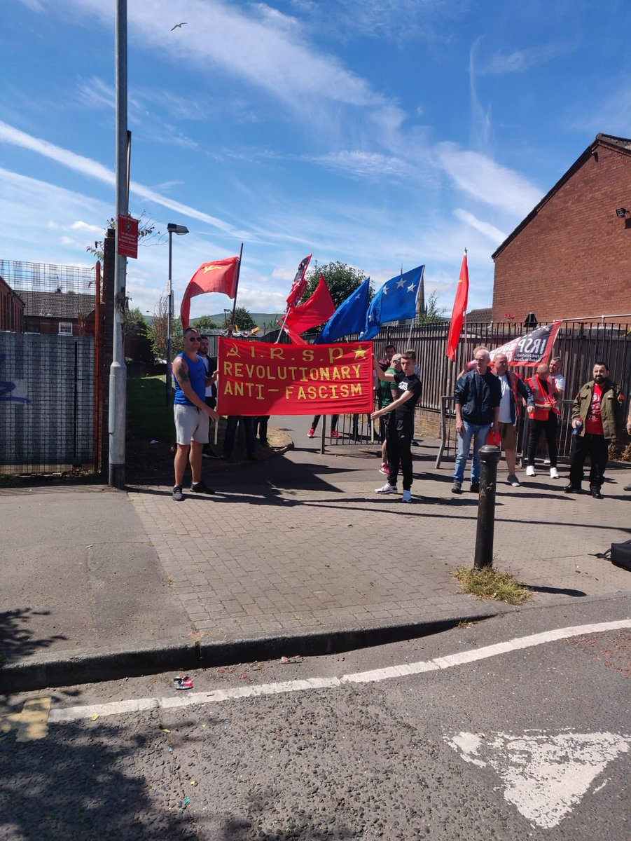 PSNI Threaten IRSP Activists in Belfast over Far Right Eviction in City Centre