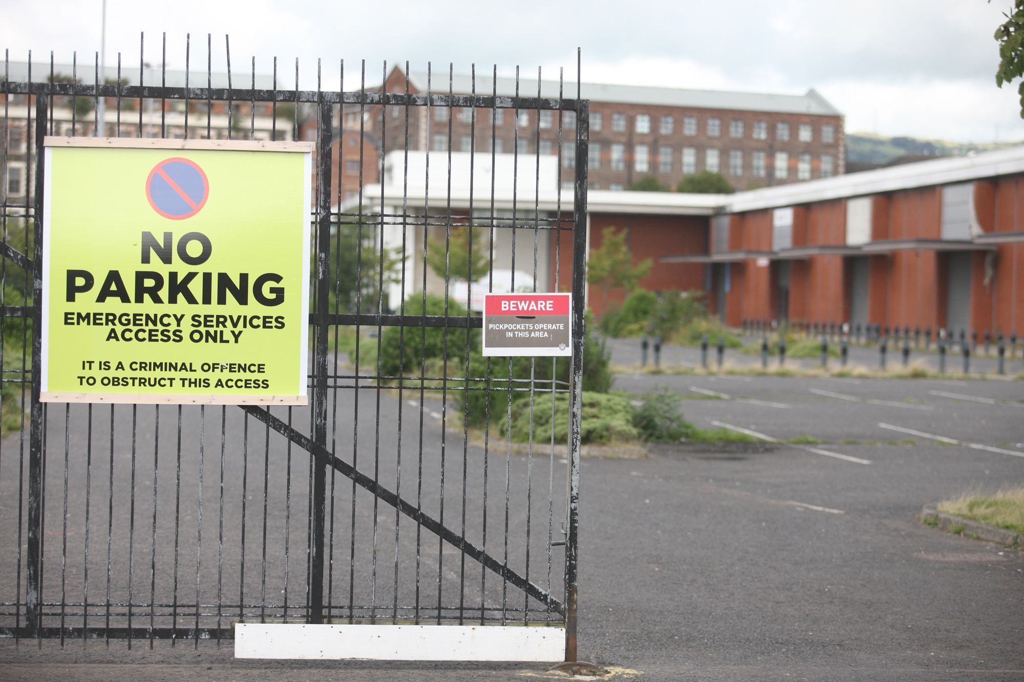 Hillview  Industrial Estate – Unionism Punishing Nationalist electorate